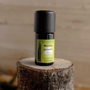huile essentielle bio et locale origine Bretagne menthe poivrée
