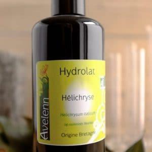 hydrolat Bio origine Bretagne Hélichryse italienne