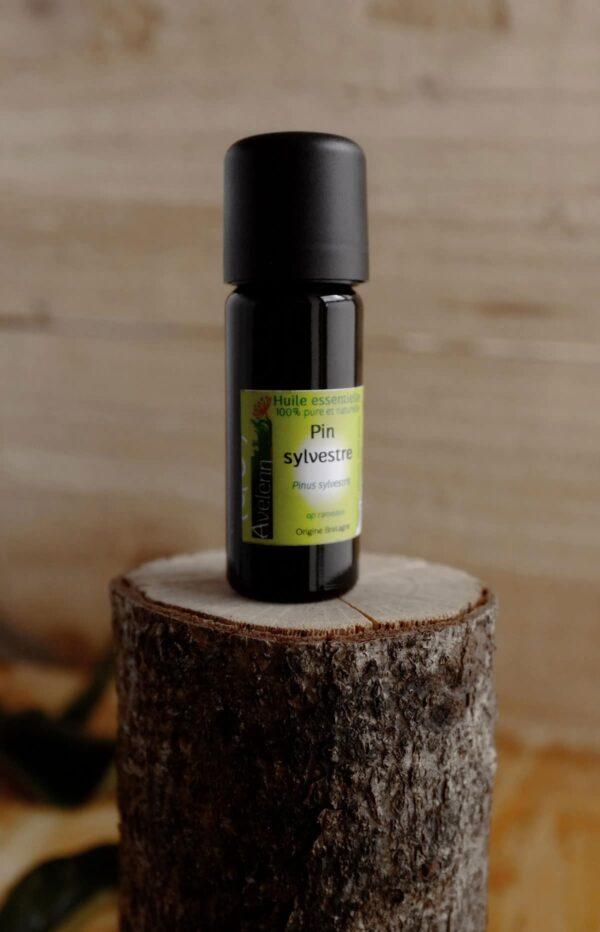 Huile essentielle bio et locale origine Bretagne pin sylvestre