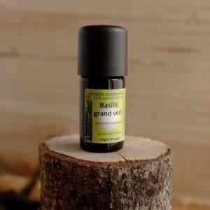 huile essentielle bio et locale origine bretagne basilic