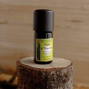 huile essentielle bio et locale origine bretagne thym à thujanol